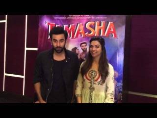 Ranbir and Deepika Movie Promotion at Pillai College