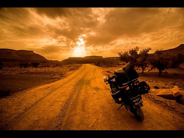 Long way to Chinguetti Morocco and Mauritania on a Honda Africa Twin XRV 750 Motorcycle