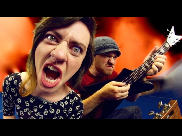 Slayer - Payback (Ukulele cover w/ Sarah Longfield)