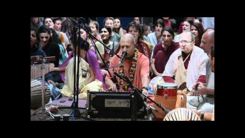 Kirtan Mela Nama Yagna with H.H. Bhakti Vaibhava Swami 01.09.2011 in Feriendorf Hoher Hain - Germany