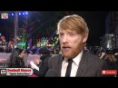 Domhnall Gleeson The Revenant UK Premiere Interview The Film Is An Accumulation Of Madnesses