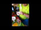 Страусиное яйцо - кулиминация