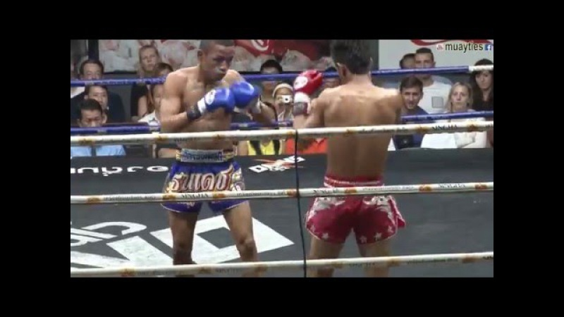 Muay Thai Fight - Kaito vs Thanadet, Rajadamnern Stadium Bangkok - 13th January 2016