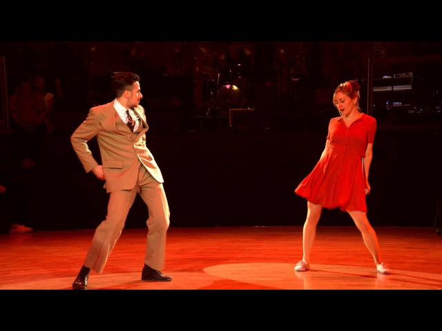 RTSF 2016 - Lindy Hop Performance - Laura Felipe