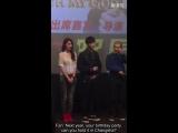 [FANCAM] 151204 #EXO #LAY @ OMG GZ FM - birthday fanmeet plans for next year (ENG SUB)