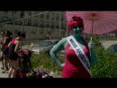 Model on the Street with Nina Agdal - The Mermaid Parade