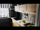 Очень маленькая кухня . Для многих полезны идеи дизайна