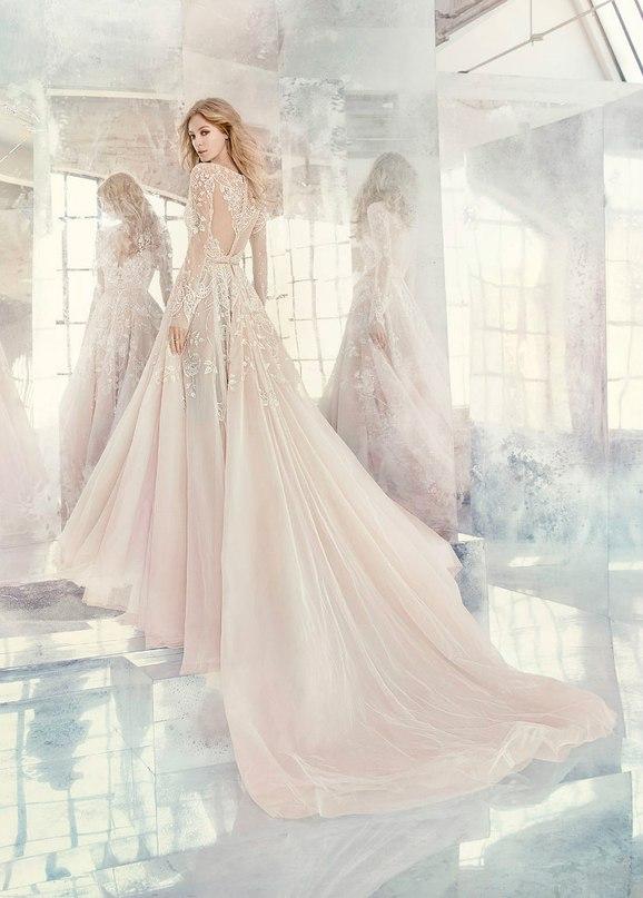 """Sk2E67t1rNI - Весенняя коллекция свадебных платьев """"Spring 2016"""" от Hayley Paige"""