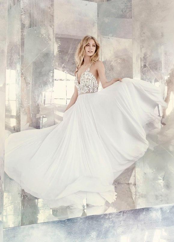 """GhJFCMXj6eQ - Весенняя коллекция свадебных платьев """"Spring 2016"""" от Hayley Paige"""