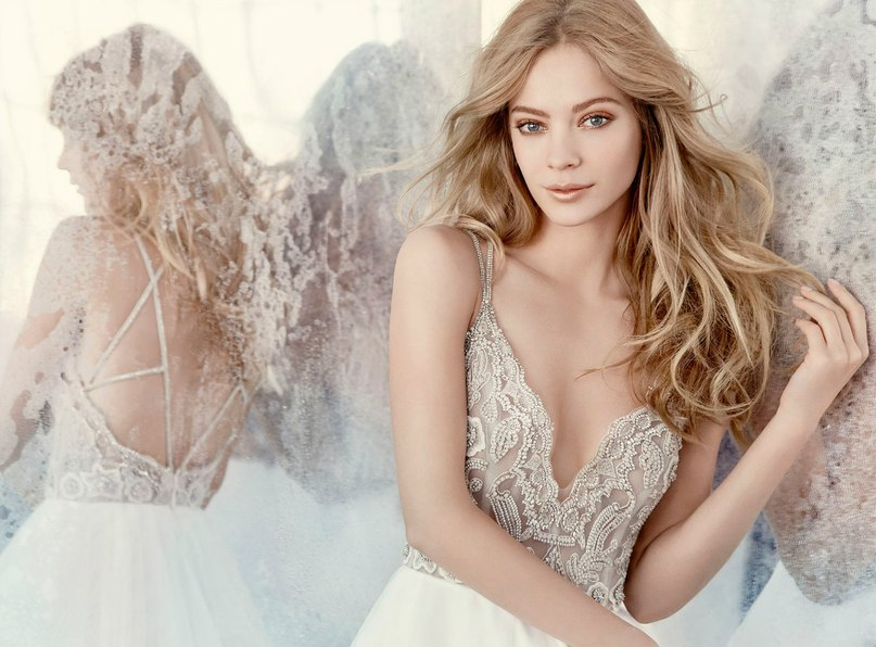"""d9n50sgjvr8 - Весенняя коллекция свадебных платьев """"Spring 2016"""" от Hayley Paige"""