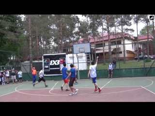 FIBA 3x3 Санаторий Алматы-2014