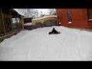Испытания летних дождевых покрышек на снегу .Специально для Den Glotov club94187076
