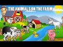 THE ANIMALS ON THE FARM ENGLISH | Nursery Rymes | Mother Poems | Poems For Kids | Baby Songs