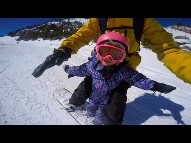 Стив Классен - самый классный папа-сноубордист