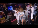 Eurovision 2016. Laura Tesoro (Belgium) going to stage. BackStage of What's The Pressure