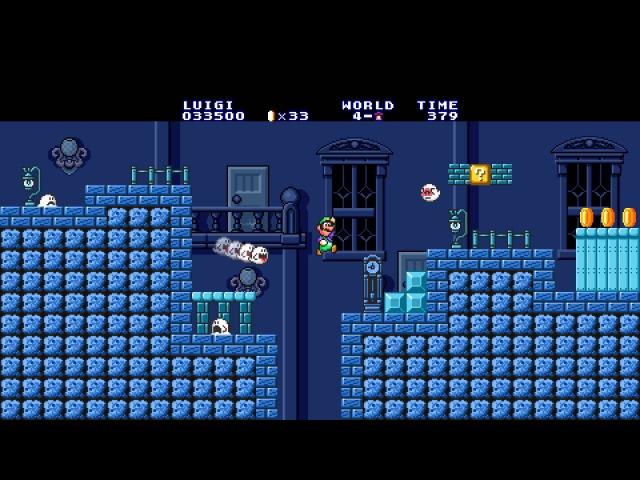 Super Mario Maker - Mario 1 Ghost House Theme - 16-Bit Remix