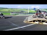 Супермото с коптера, 3 этап 2016, Рязань, Атрон. SuperMotoRu