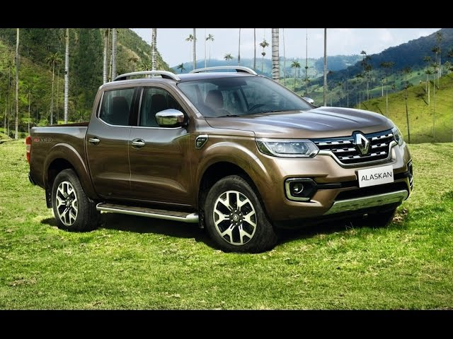 2017 Renault ALASKAN - Video Debut