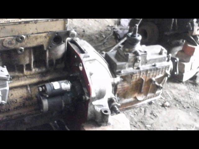 Как сделать из КПП Зил 130 скоростную КПП ДВС Д245 часть 4,