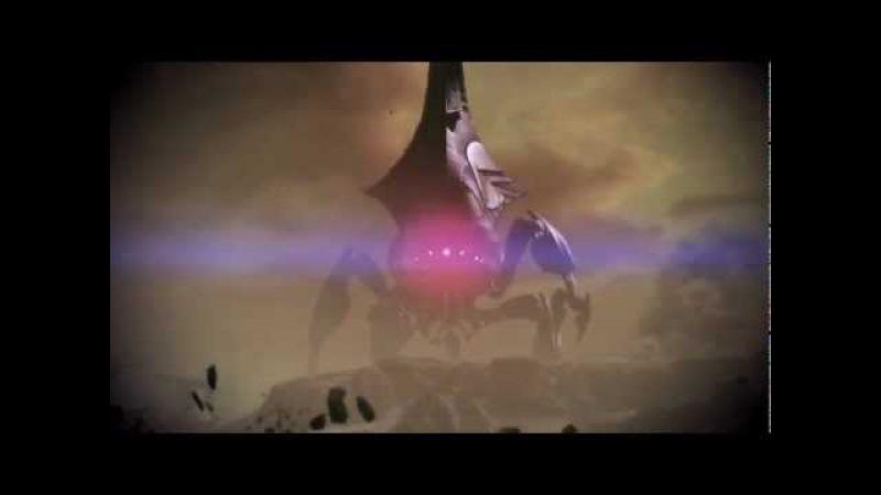 Mass Effect 3 - Бой Калрос с Жнецом