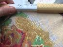 Мой новый процесс вышивки бисером от ТМ Тэла Артис Лунные розы