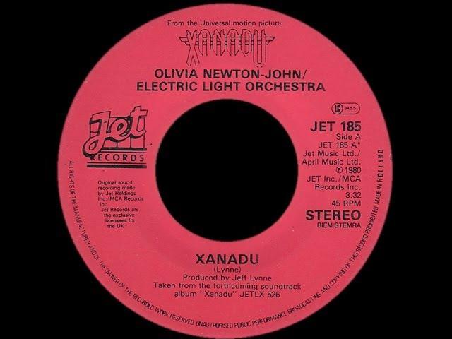 Olivia Newton John Electric Light Orchestra ~ Xanadu 1980 Disco Purrfection Version