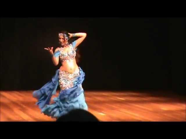 Ju Marconato Belly Dance Solo Derbake - Brasil
