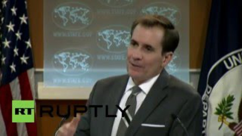 USA: State Dept's Kirby gets personal as he swerves RT journo's question