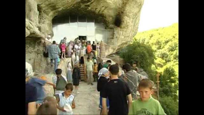Скальный монастырь вмч. Феодора Стратилата Челтер Коба в Крыму