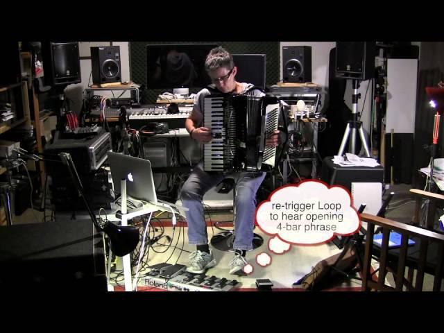 ELEGY 2 - Cathie Travers / accordion, Ableton Live, FC300, 12-Step