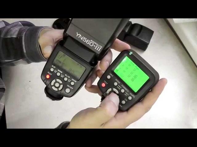 Распаковка и краткий обзор контроллера YONGNUO YN560 TX Nikon