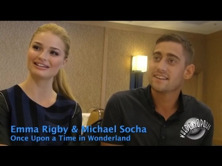 Once Upon a Time in Wonderland - Emma Rigby Red Queen and Michael Socha Knave of Hearts