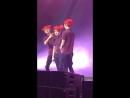 160210 Chanyeol made Baekhyun  Sehun hug during Peter Pan @  EXO PLANET #2 Dallas – The EXO'luXion