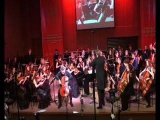 А. Дворжак. Концерт для виолончели №2. 1 часть. Исполняет Георгий Юфа. 19 марта 2016г.