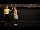 На Порку! Хореографическая зарисовка на тему человеческих взаимоотношений, Надежда Апполонова, СПб