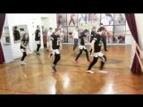 Репетиция флешмоба. Современные Танцы для детей и подростков в Кишиневе на Рышкановке в танцевальной студии школе Даллас.Хип-хоп