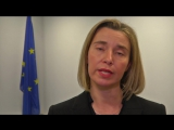 Federica Mogherini on the entry into force of the agreement on the Iranian nuclear program