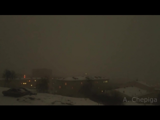 Снег идет на Североморск