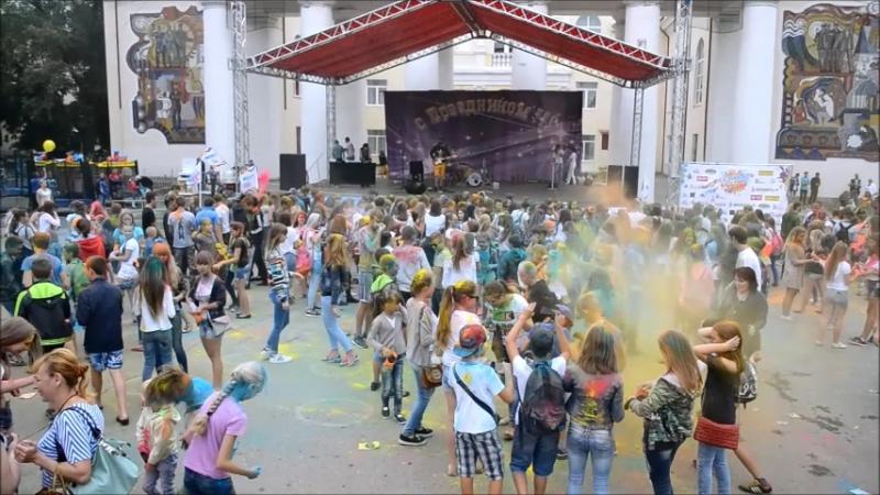фестиваль красок gukovofest автошкола ЛИДЕР