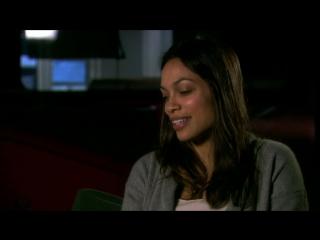 Неуправляемый/Unstoppable (2010) Интервью с Розарио Доусон