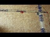 Едем по стреле - SMK 10.200 - Модель Башенного Крана в масштабе 1:40