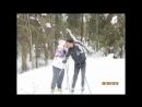 Прогулка по зимнему лесу на лыжах