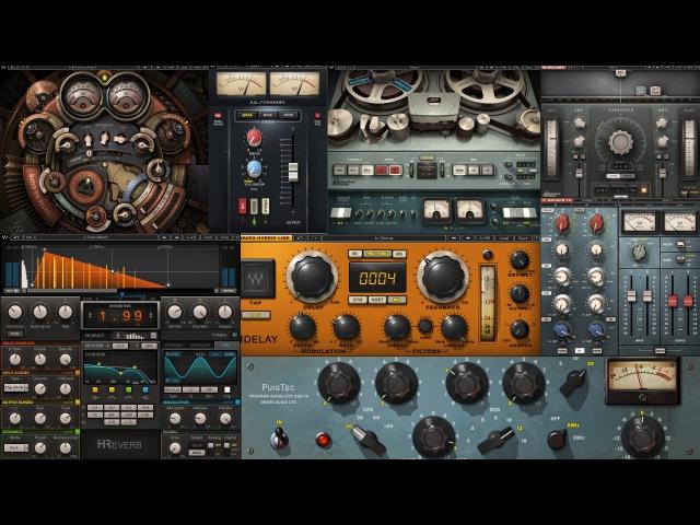 Обработка вокала для кино-трейлеров плагинами фирмы Waves