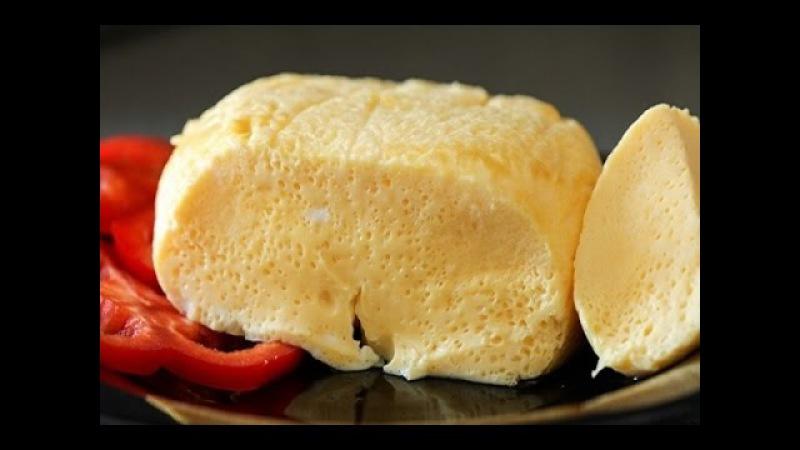 Вареный омлет в пакете без масла!