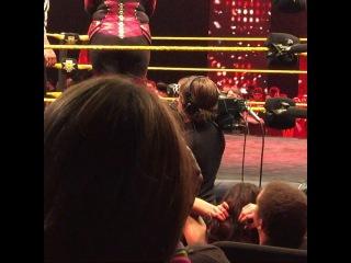 """Adriel Diaz on Instagram: """"Eva Marie entrance. #WeAreNXT #EvaMarie #AllRedEverything #WWE #NXT #WWEOrlando #NXTOrlando #Divas #DivasRevolution #TotalDivas #CFEArena…"""""""