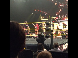 "Adriel Diaz on Instagram: ""Asuka comes out to help Carmella, confronts Eva Marie and Nia Jax. #Asuka #AsukaCity #EvaMarie #NiaJax #Carmella #WWE #NXT #NXTOrlando…"""