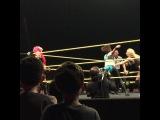 "Adriel Diaz on Instagram: ""Baymella Moonwalk! (Reuploaded and fixed). #Baymella #Bayley #Carmella #CFEArena #Divas #DivasRevolution #WWE #NXT #EvaMarie #WeAreNXT…"""