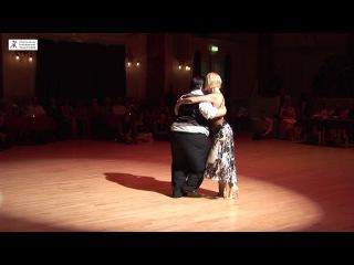 2016 Alejandra and Aoniken dance milonga to La Mulateada at Cheltenham International Tango Festival