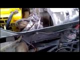 Ауди 100 С3. Как снять моторчик печки для проверки и замены щёток.