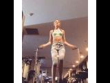 "Bridget Malcolm on Instagram: ""All time favorite cardio, especially at a jet lagged 5am --- @victoriassecretsport #vsx #trainlikeanangel @victoriassecret"""
